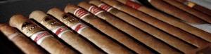 Cigarrer i humidor