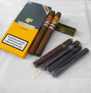 Premium-cigarrer och billiga bundle-cigarrer